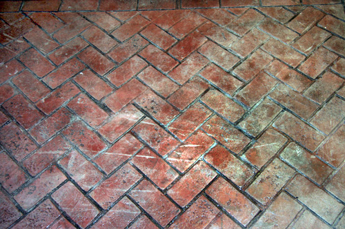 herringbone brick