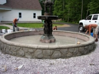 fountain - in progress 2